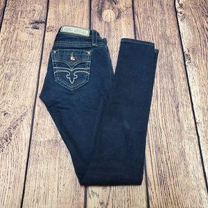 Rock Revival Alivia Skinny Jeans Size 24 | Flaps